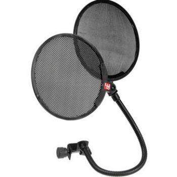 sE Electronics Filtro antipop para microfono Dual Pop Filter