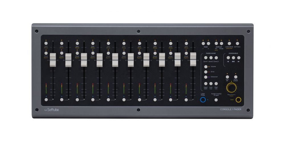 Console 1 Fader 00 Top Lit