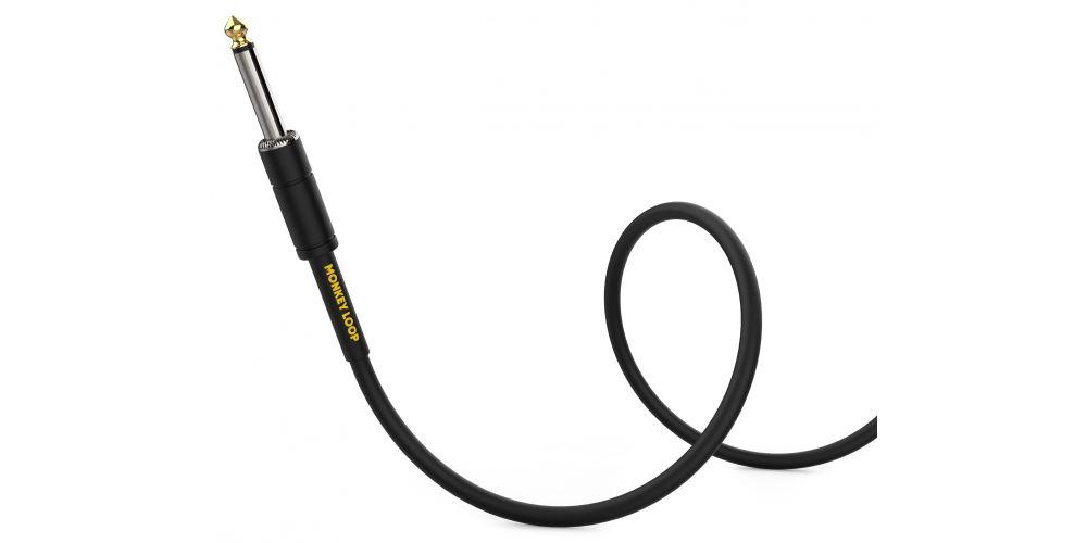 monkey loop standard cable jack mono jack acodado bajo