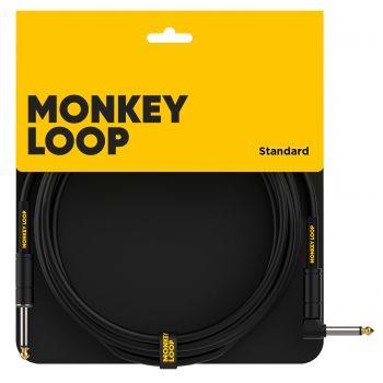 Monkey Loop Standard Cable Jack Mono - Jack Acodado 3 Metros
