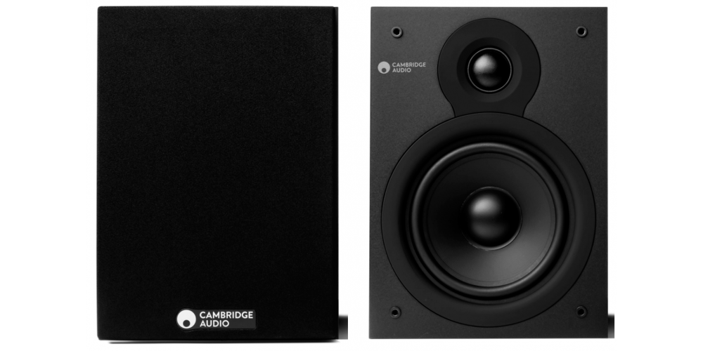 CAMBRIDGE SX 50 V2 Matt Black Altavoces HiFi Estantería