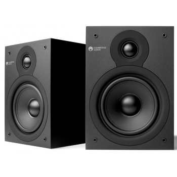 Cambridge Audio SX-50 MATT Black serie V2 Altavoces Estantería Pareja