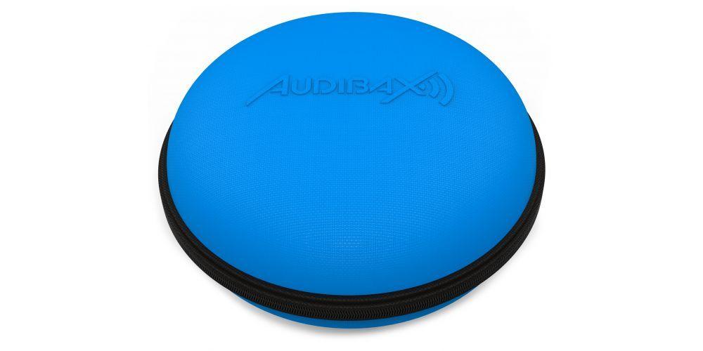 audibax audibax atlanta case 30 blue headphone estuche