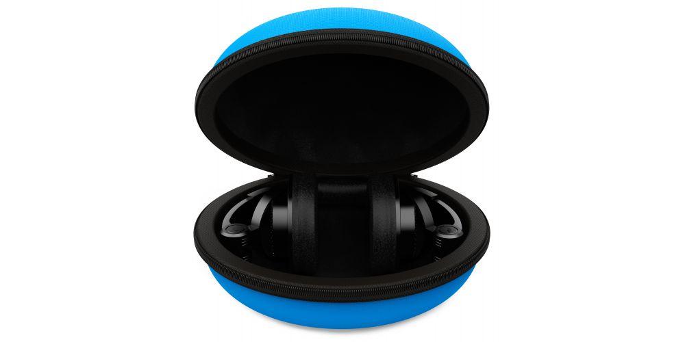 audibax audibax atlanta case 30 blue headphone funda auriculares
