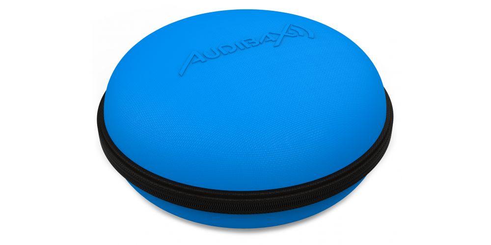audibax audibax atlanta case 30 blue headphone promocion
