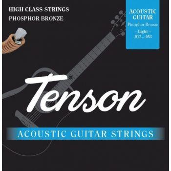 Gewa F600750 Cuerdas Guitarra Acústica Phosphor Bronze .012-.053, Light