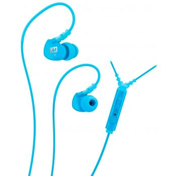 Mee Audio M6P2-TL Azul Auriculares deportivos In Ear con control