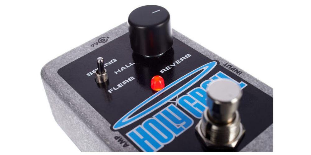 elektro harmonix holy grail controles