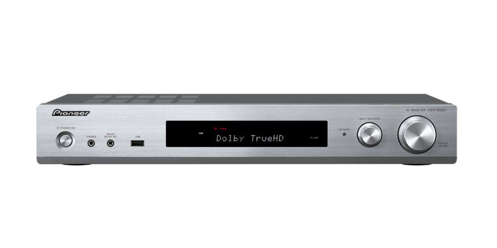 pioneer vsx s520 silver amplituner
