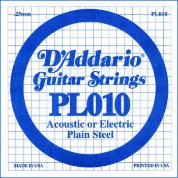 D Addario PL010 Cuerdas Guitarra Eléctrica