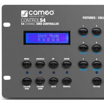 CAMEO CONTROL 54 Controlador DMX 54 Canales