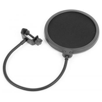 VONYX 173503 Conjunto Estudio / Micro de condensor con soporte y paravientos