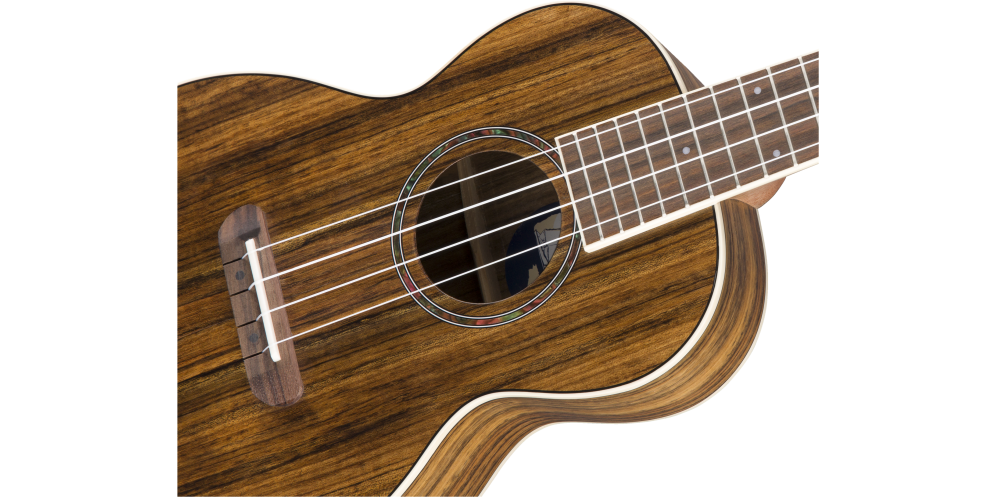 fender rincon tenor uke natural cuerdas