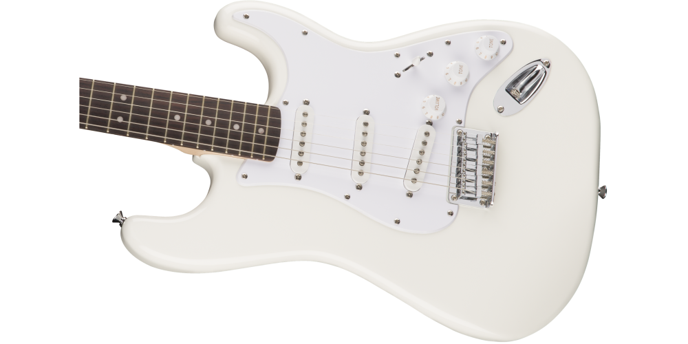 fender squier bullet stratocaster hard tail rosewood fingerboard arctic white oferta