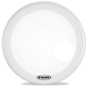 Evans 22 EQ3 Reso Smoth White Parche de Bombo BD22RSW