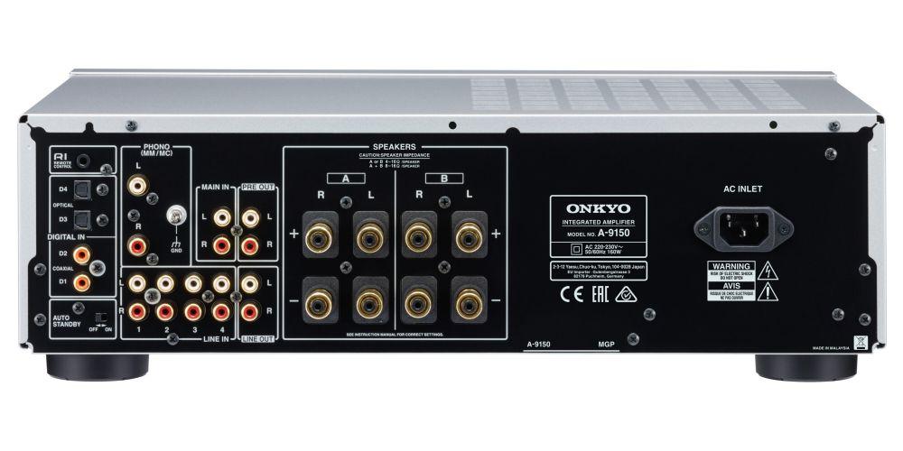 onkyo A 9150 plata conexiones