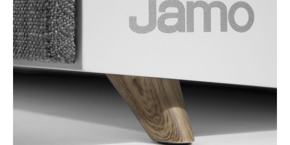jamo s81 cen white altavoz central detalle