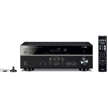 Yamaha RXV385 Jamo S803 HCS+S808 SUB White Conjunto Home Cinema