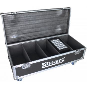 Beamz Professional Flightcase FL4 Para 4pcs Star-Color 240 o 360 Proyectores Wash 150697