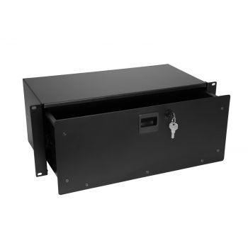 Omnitronic Rack Drawer SN-4 Cajón de Rack con Cerradura 4U