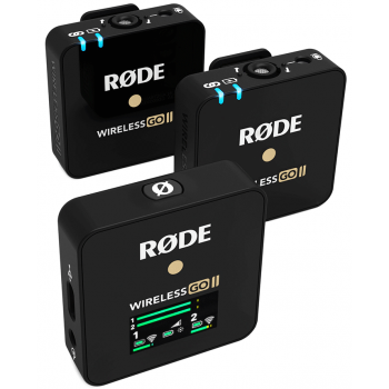RODE Wireless GO II Sistema de Micrófono Digital Inalámbrico