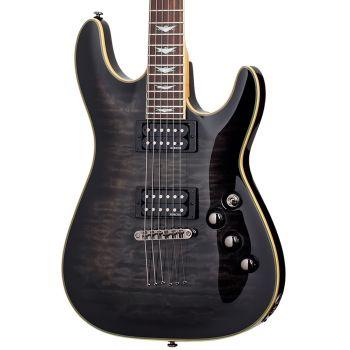 Schecter OMEN Extreme-6 See-Thru Black. Guitarra Eléctrica