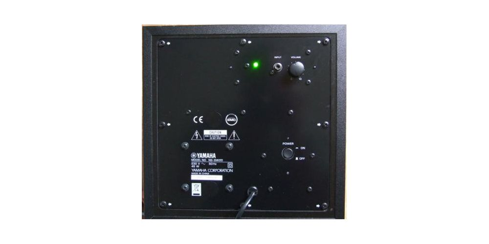 Yamaha NS-P20-BK Sistema altavoces PR-CT-TR-SW