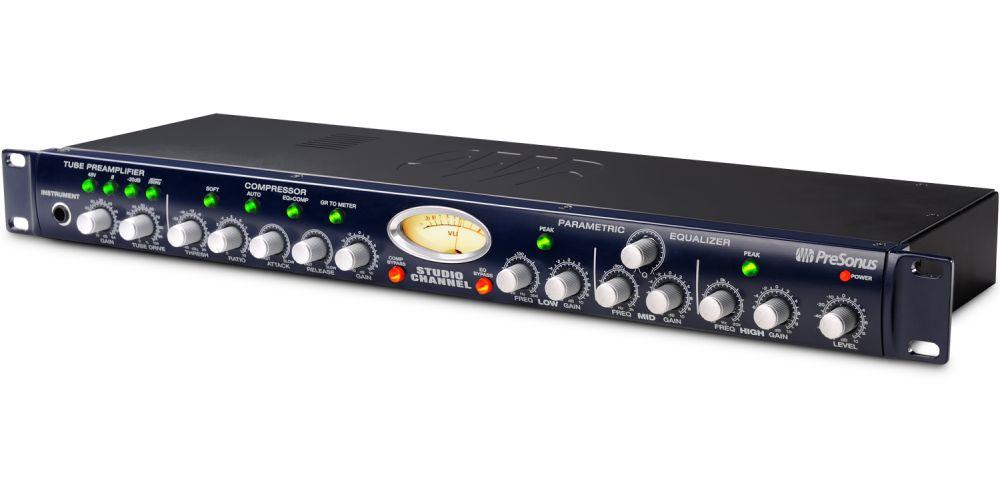 presonus studio channel preamplificador valvulas compresor