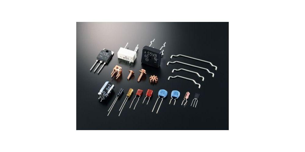 yamaha as501 silver amplificador detalle componentes electronicos