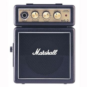 Marshall MS-2 Amplificador Guitarra Mini 2W Negro