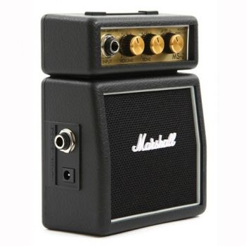 MARSHALL MS-2 Amplificador Guitarra Mini 2W, Negro, MMAMS2
