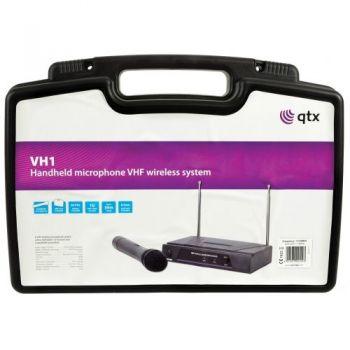 QTX VH1 Microfono Inalambrico de Mano