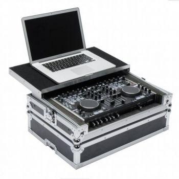 Magma Dj Controller Denon MC6000 Black Silver Flightcase