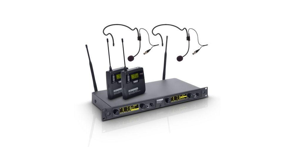 LD SYSTEMS WIN 42 BPH 2 Sistema inalámbrico 2 petacas y 2 micrófonos