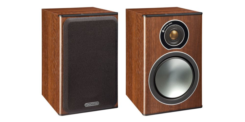 MONITOR AUDIO BRONZE 1 NOGAL PAR