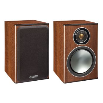 MONITOR AUDIO BRONZE 1  Walnut, par.