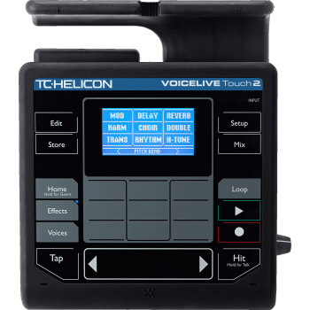TC Helicon VoiceLive Touch 2 Multiefectos Vocal, Designer y Looper -