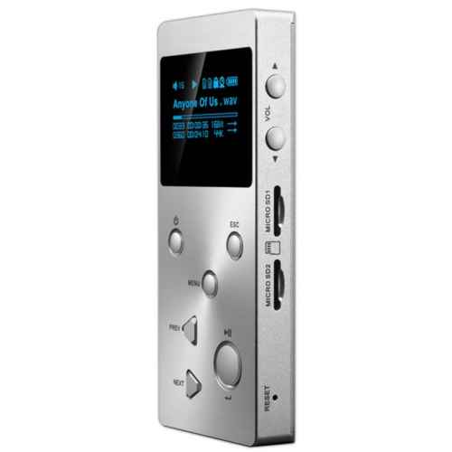 XDUOO X3 Portable HD Player Silver