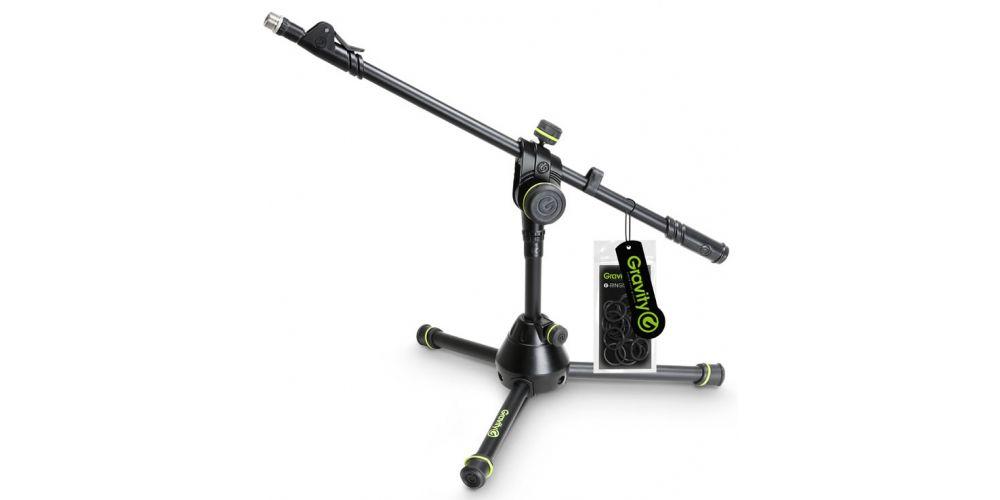 soporte microfono corto MS3122HDB