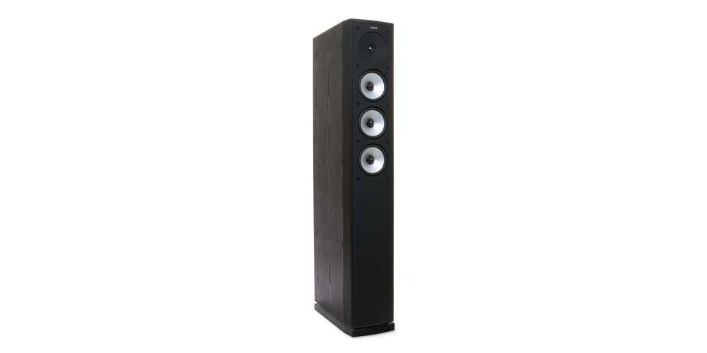 jamo S628 blk altavoces tres vias bass reflex