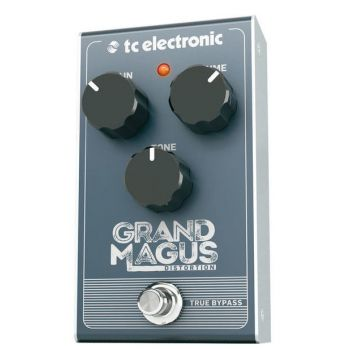 TC Electronic Grand Magus Distorsion Pedal de efectos