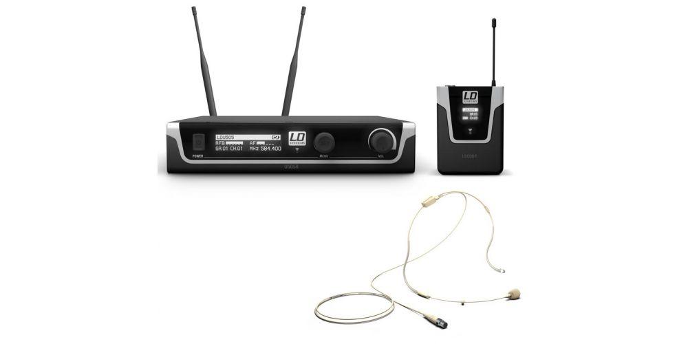 microfono diadema ldsystems U505BPHH