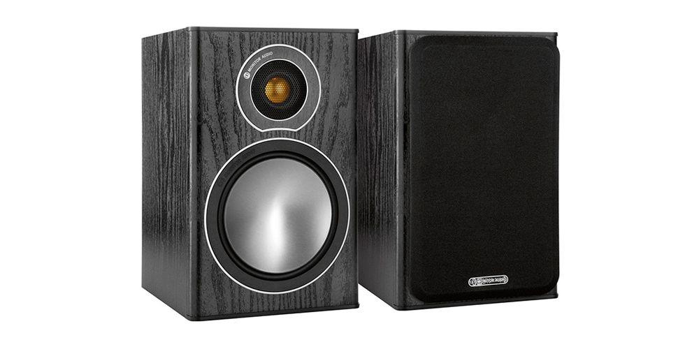 monitor audio bronze1 black