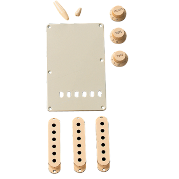 Fender Kit de Accesorios Stratocaster Aged White