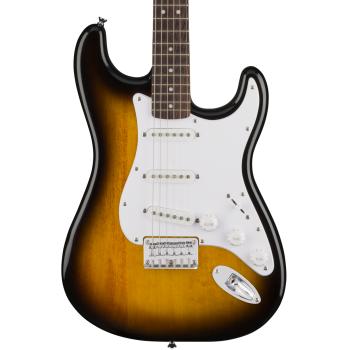 Fender Squier Bullet Stratocaster Hard Tail RW Sunburst. Guitarra Eléctrica