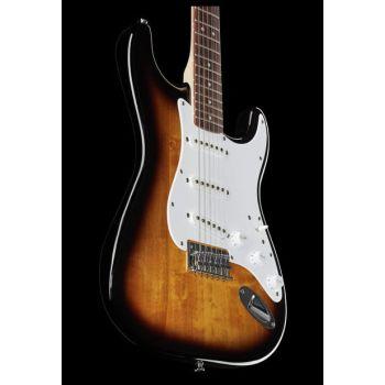 Fender Guitarra Eléctrica Squier Bullet Stratocaster Hard Tail RW Sunburst