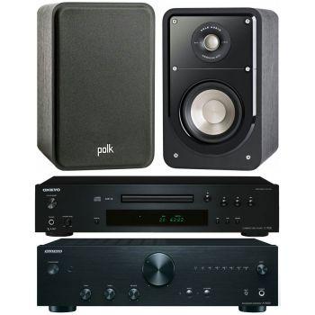 Onkyo A9010K+C7030K+Polk audio S15 Conjunto audio