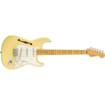 Fender Eric Johnson Thinline Stratocaster MN Vintage White