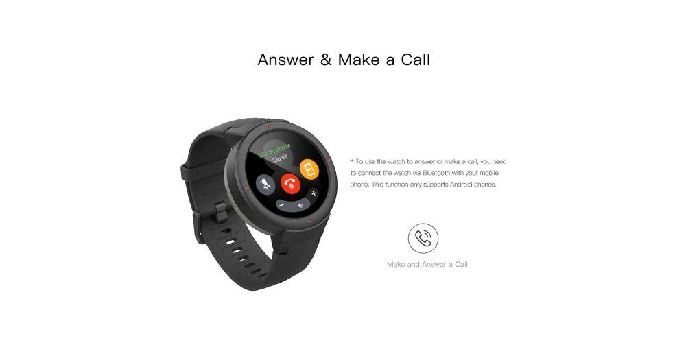 Xiaomi Amazfit Verge Grey Reloj Deportivo inteligente Amazfit Verge
