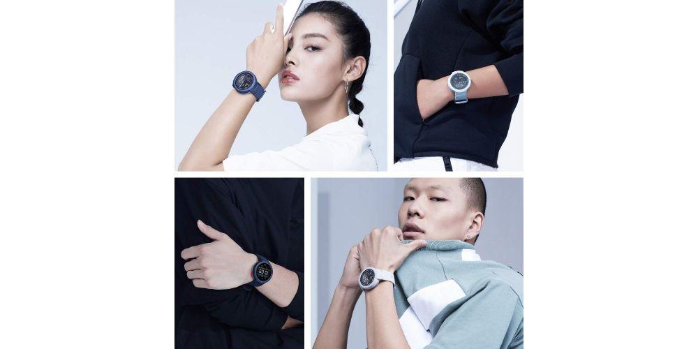 xiaomi amazfit verge blue reloj deportivo inteligente colores